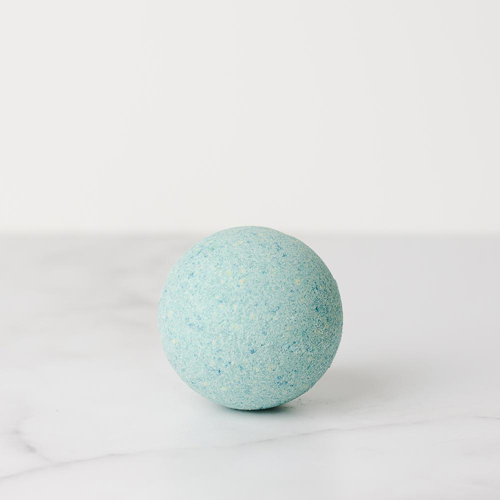 Handmade pineapple and coco natural bath bomb